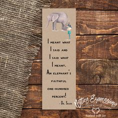 I meant what I said - Bookmark Sympathy Cards, Greeting Cards, Tag Design, Pallet Signs, I Said, Paper Gifts, Handmade Wooden, Wooden Signs, Bookmarks