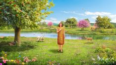 Gen And Jehovah God took the man, and put him into the garden of Eden to dress it and to keep it. True Faith, Faith In God, Spirit Of Truth, Holy Spirit, Jesus Second Coming, Jesus Return, Get Closer To God, Bible Pictures, Everlasting Life