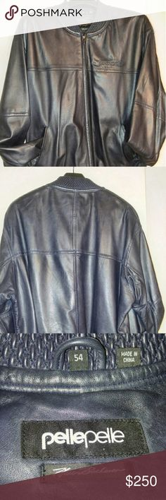 Leather Pelle Jacket Best Offer Navy Blue Pelle Jacket Pelle Pelle Jackets & Coats Bomber & Varsity