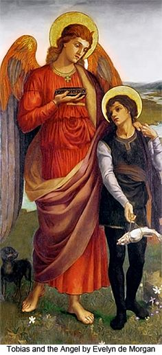 tobias and the angel | Tobias and the Angel by Evelyn de Morgan