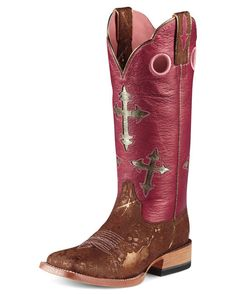I really, really, really, really, really, REALLY.....want these!!!      Women's Ranchero Boot - Metallic Copper/Pink/Blingin Pink