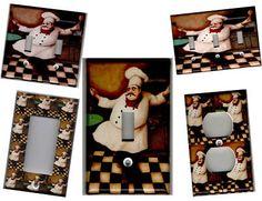 Fat Chef Kitchen Wall Décor - eBay