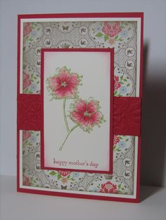 Stamp Up Your Craft: Faith in Nature Mother's Day Card