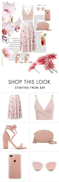 """Gentle Girl"" by emina-la ❤ liked on Polyvore featuring RED Valentino, Raye, MICHAEL Michael Kors, Belkin and Stephane + Christian"