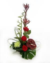 flower arrangements red rose - Google Search
