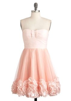 Lovely Pink Grapefruit Martini Dress, #ModCloth #partydress