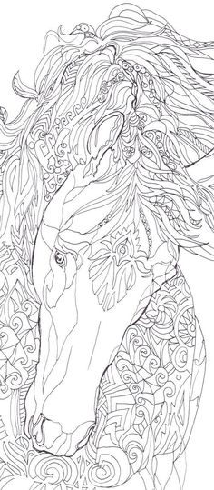 Artists Colouring Book Art Nouveau : Coloring page for adults feathers by egle stripeikiene. size a3
