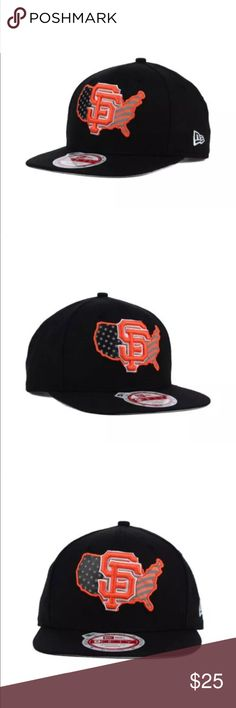 New Era San Francisco Giants USA SnapBack Hat This San Francisco Giants New  Era MLB USA 466a6f7c35c6