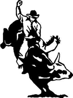 Bull Rider Clip Art Cliparts