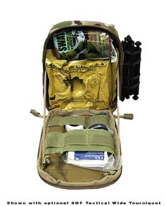 AR500 Armor Tactical EPIK (IFAK) Review We have discussed the importance of carrying a true trauma kit. Not a boo boo kit, or a basic first aid kit. First Aid kits are useful and you should be keeping one in your car especially if you're a parent. However we are talking about a true trauma kit that is designed to deal with potentially fatal injuries associated with gun shot wounds or massive trauma.