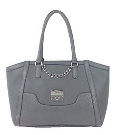 GUESS 'Junia' Snake-emobssed Large Satchel, Grey GUESS http://www.amazon.com/dp/B0117ZHPFE/ref=cm_sw_r_pi_dp_I6wNvb1Y0XK94