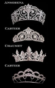chaumet tiara   Just in case you were in the market... princess... ansorena tiaras