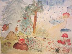 Autumn songs hidden in the picture (Laulutaulu)
