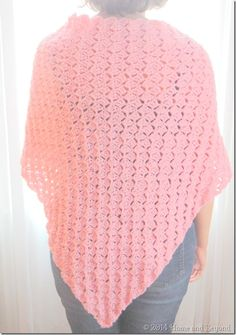 A Simple Shawl for a Ronald McDonald House Mom ~ free pattern