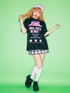 【 PECO CLUB 】チェックプリーツスカート