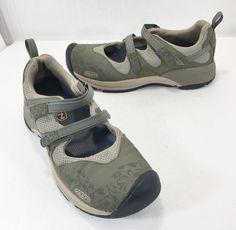 Keen Malibu Mary Janes Green Trail Running Shoes Womens 11 US 42EU #KEEN #WalkingHikingTrail