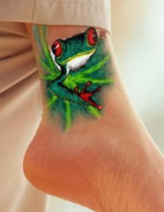 frog tattoo ideas - Google Search