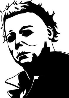 Halloween Stencils, Halloween Stickers, Halloween Window, Fall Halloween, Horror Movie Tattoos, Horror Monsters, Cricut Craft Room, Michael Myers, Cricut Creations