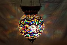 moroccan lantern hanging lamp glass chandelier light lampen handmade candle m 48 #Handmade #Moroccan
