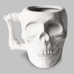 ☆ Skull Coffee Mug ☆