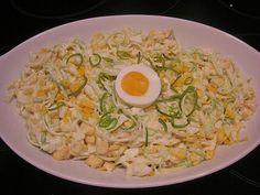 Apfel - Porree - Salat, ein tolles Rezept aus der Kategorie Eier & Käse. Bewertungen: 32. Durchschnitt: Ø 4,0.