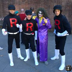 #LuccaCG16 #LuccaGold #Lucca50 #LuccaComicsAndGames #Lucca #TeamRocket #Pokemon #GottaStealEmAll #GottaCatchEmAll #Cosplay #ItalianCosplay #Joker #BadGuys #Foolishness