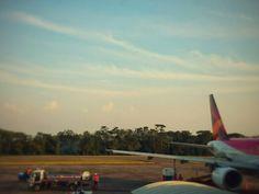 Vista desde el aeropuerto de Barrancabermeja. Regreso a Bogotá