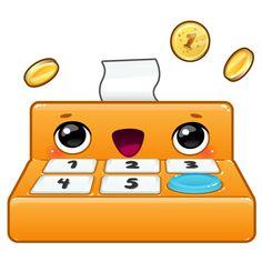 The friendly Toca Store cash register. App by Toca Boca. http://itunes.apple.com/us/app/toca-store/id442705759?mt=8