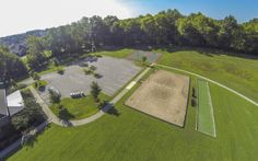 Volleyball and Basketball are all part of the amenities package at Tollgate Village- Lennar Nashville
