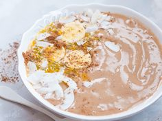 Oatmeal with a difference: Do you already know Pudding Oats? The ideal breakfast for sweetmouths: Pudding Oats - Pudding Desserts, Pudding Recipes, Dessert Recipes, Pudding Oats, Oats And Honey, Smoothies With Almond Milk, Baked Oats, Healthy Breakfast Recipes, Salads