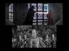 Star Wars Hidden Fortress Comparison, George Lucas has openly admitted that the many parallels between the Star Wars and a 1958 Japanese film by Akira Kurosawa,The Hidden Fortress are no coincidence. A great deal of the cinematography featured in the Kurosawa film found its way into Star Wars, such as the iconic screen-wiping during scene transitions. George Lucas even considered Toshiro Mifune, who starred in The Hidden Fortress, for the part of Obi-Wan Kenobi.