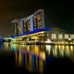 Marina bay, singapore...