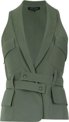 Fashion Details, Fashion Design, Blouse And Skirt, Office Fashion, Jacket Style, Suits For Women, Mantel, Autumn Fashion, Fashion Dresses