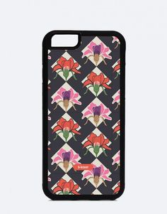 Manhattan-rombos-y-flores Manhattan, Phone Cases, Mobile Cases, Flowers, Phone Case