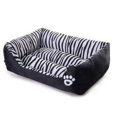 Cat Bed Waterproof Pet Bed Zebra Patterns Sweety Dog Kennel Moistureproof Keep Clean Pets Bed Home For Cats and Puppy #Affiliate