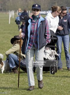 Princess Anne, The Princess Royal attends the Gatcombe Park Horse Trials on…
