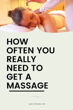 Should you get a massage weekly or once every few months? In this article, we provide a detailed answer to the question: how often should you get a massage? Relaxation Techniques, Massage Techniques, Massage Benefits, Massage Tips, Massage Room, Technique Massage, Massage Treatment, Spa Treatments, Massage Relaxant