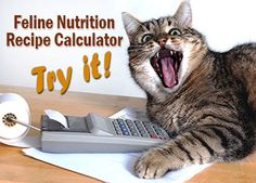 Try out the handy recipe calculator! Recipe: Feline Nutrition's Easy Raw Cat Food