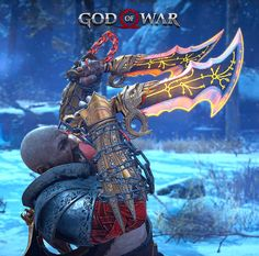 Blades of Chaos - God of War. Video Game Art, Video Games, Tao, Gow 4, God Of War Game, Kratos God Of War, Stuff And Thangs, Greek Gods, Ancient History