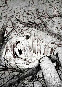 Levi X Eren, Boy Art, Love At First Sight, Chinese Art, Literature, Illustration Art, Romance, Magic, Celebrities
