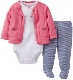 Baby Girls 0-3 Sleepsuits Good Taste Clothing, Shoes & Accessories