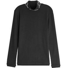 232c866e2e Kappa Kontroll Printed Cotton Turtleneck Pullover ( 93) ❤ liked on Polyvore  featuring men s fashion