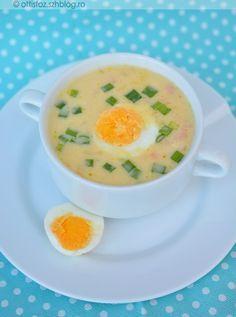 Kitűnő leves főtt tojás felhasználásra, akár a közeledő húsvét alkalmából is. Ezen kívül ez az egyik legfinomabb tojásleves,amit életemben ettem. Érdemes kipróbálni! Francia tojásleves Hozzávalók:6 db... Cheeseburger Chowder, Food And Drink, Soup, Lunch, Meals, Cooking, Recipes, Cook Books, Egg