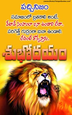 telugu quotes-good morning quotes-self motivational thoughts in telugu-best words on life in telugu-famous life changing words Love Quotes In Telugu, Telugu Inspirational Quotes, Motivational Quotes, Motivational Thoughts, Quotes Positive, Morning Wishes Quotes, Good Morning Messages, Good Morning Quotes, Happy New Month Quotes