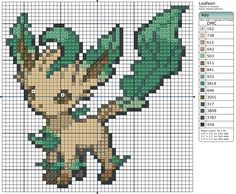 470 - Leafeon by Makibird-Stitching.deviantart.com on @deviantART