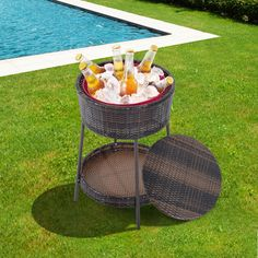 Keep your beers and drinks cold under the scorching summer heat! #thepatiodepot