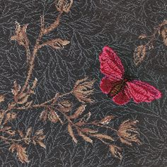 Noir Ruskin Butterfly carpet, Timorous Beasties Collection by Brintons range Karndean Flooring, Carpet Remnants, Axminster Carpets, Timorous Beasties, Pre Christmas, Self Design, The Day Will Come, Carpet Stairs, Carpet Design