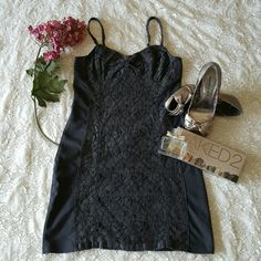 "American Eagle Dress America Eagle Dress, charcoal grey in color size 6. Pretty lace detail and heart shaped chest area. Perfect for Spring and Summer.  Measures 25"" 1/2 inches from top to bottom  Bundles welcome great discounts  Please reasonable offers only  ♡ Thank You for shopping my closet♡ American Eagle  Dresses Mini"