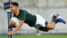 Rugby Championship: South Africa draw with New Zealand after late Herschel Jantjies try BBC Sport Rugby Championship, Rugby Sport, All Blacks, Rugby Players, Herschel, World Cup, Bbc, South Africa, Competition