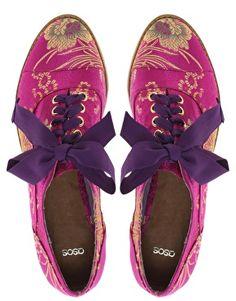 Magic Carpet Embroidered Flat Shoes at @asos.com #BacktoCool - 2 cute & unique!